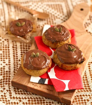 糖分の多そうなチョコレートスイーツ画像