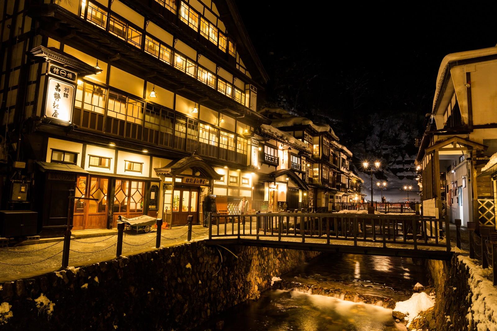 日本旅館の夜