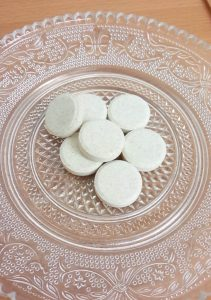 青汁・酵素タブレット錠剤写真
